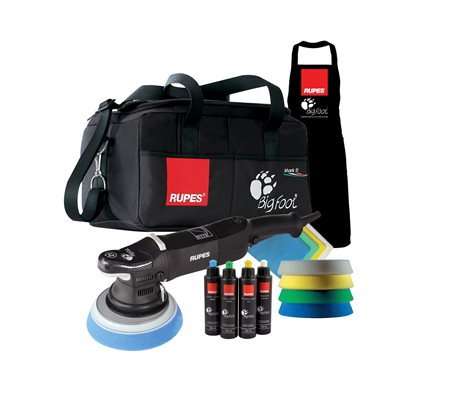 LHR21II BigFoot Random Orbital Polisher DLX Kit
