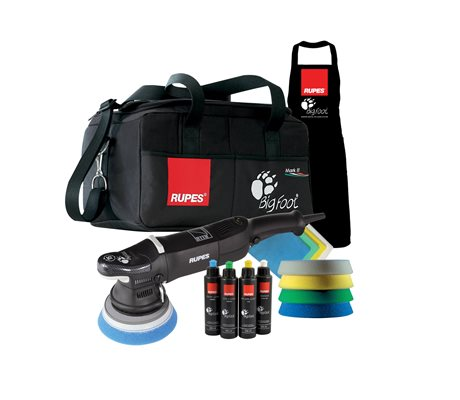 LHR15II Bigfoot Random Orbital Polisher DLX Kit