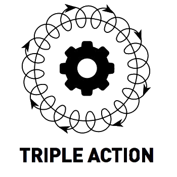 triple action rupes pattern