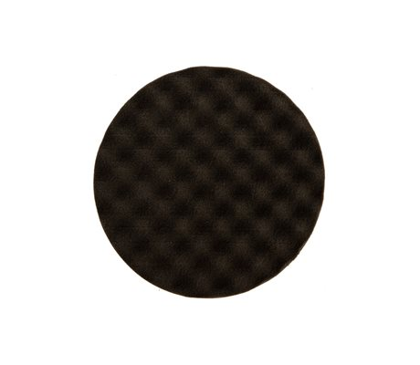 Polishing Foam Pad 150 x 25 mm Black Waffle