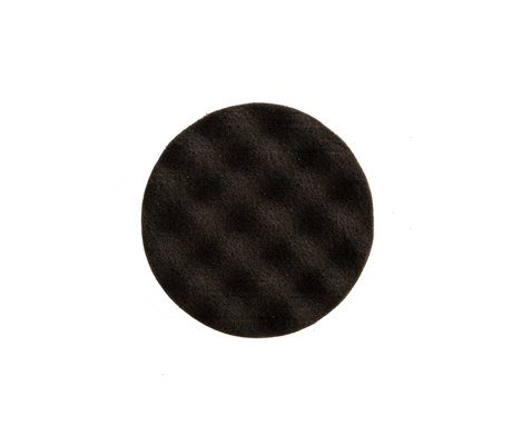 Polishing Foam Pad 85 x 25 mm Black Waffle