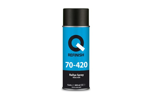 70-420-0401 Rallye Spray Black Mat