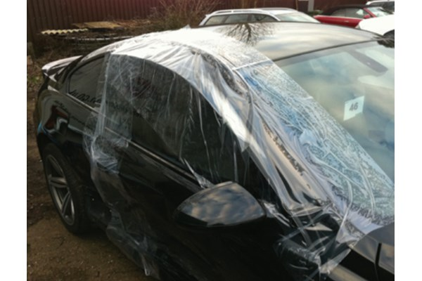 Surface protection on car
