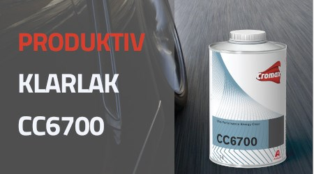 En produktiv klarlak CC6700 Ultra Performance Energy Clear