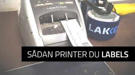 Sådan printer du labels