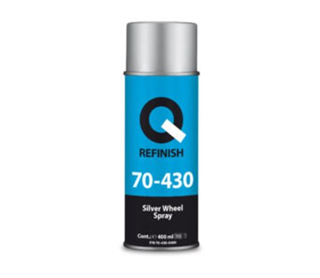70-430 Silver Wheel Spray