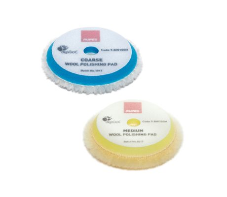 9.BW100 Wool Polishing Pad Ø80/90 mm