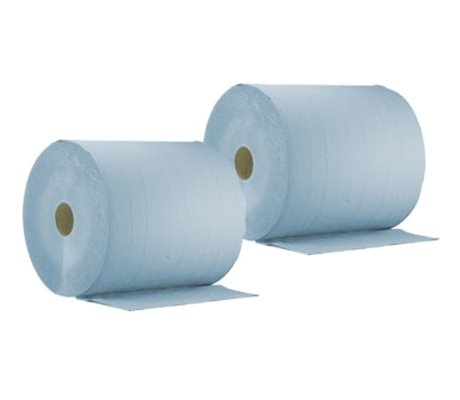 60-125 Cleaning Paper Blue 2-Ply
