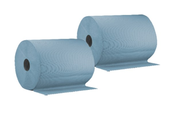 60-130 Cleaning Paper Blue 3-Ply Glued