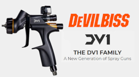Devilbiss DV1 Clearcoat Spray Gun