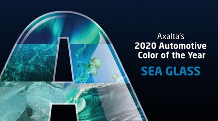 Sea Glass Axalta Automotive Color of the Year 2020