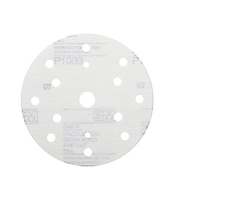 3M Hookit 260L+ Purple Finishing Film Disc 150mm
