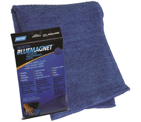 Blue Magnet Microfibre Cloth