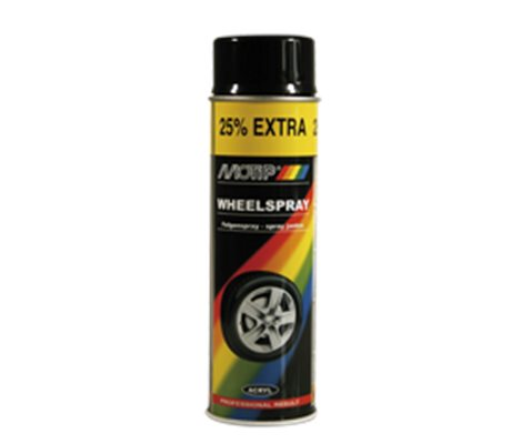 Wheel Spray Silver