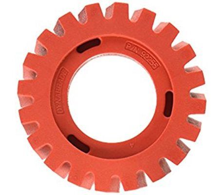 Dynabrade 92255 Wide RED-TRED Eraser Wheel
