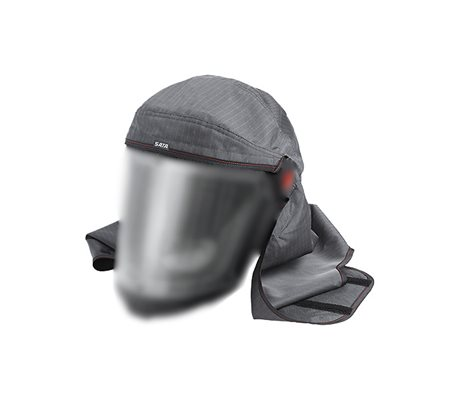 SATA Air Vision 5000 Dark Grey Hood Cloth