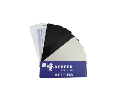 Matt Clear Swatch
