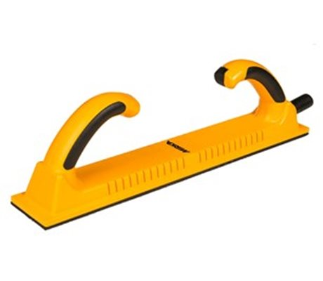 File Board 70 x 400 mm Grip Yellow Rigid