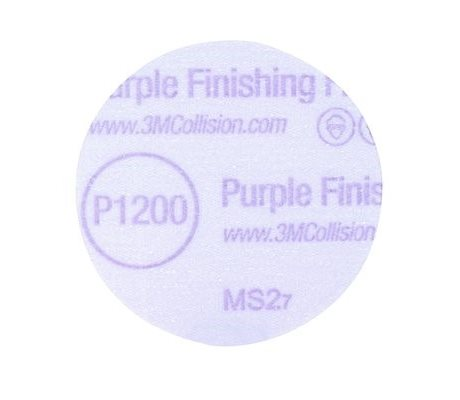 3M Hookit 260L+ Purple Finishing Film Disc 76mm
